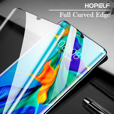 5D Tempered Glass HD Edge Full Covered Screen Protector For Huawei P30pro