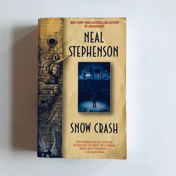 Paperback book: Snow Crash by Neal Stephenson