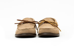 Camp Moccasin- Coyote Sumner Roughout- Brown Camp Sole