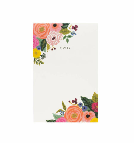 Juliet Rose Notepad by Rifle Paper Co.