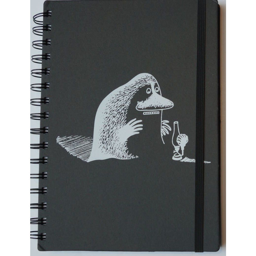 Wire Notebook Black A5 Hard Cover The Groke