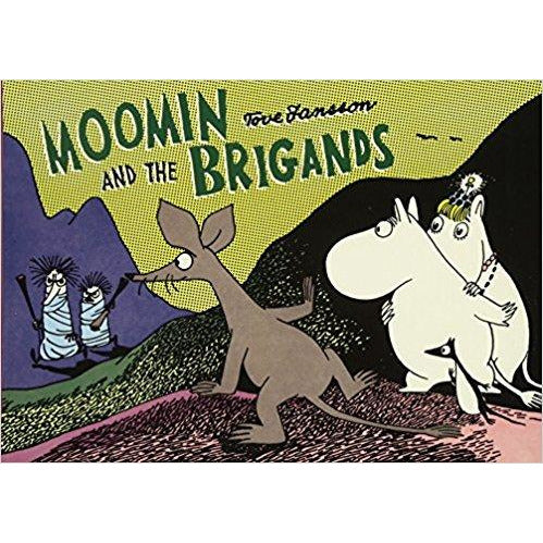 Colour Comic Book Moomin And The Brigands - .