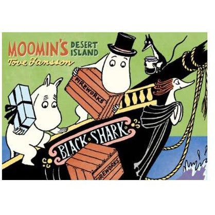 Colour Comic Book Moomin's Desert Island - .