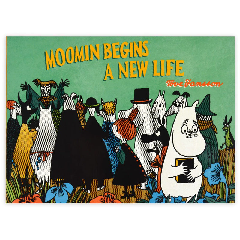 Colour Comic Book Moomin Begins A New Life - .
