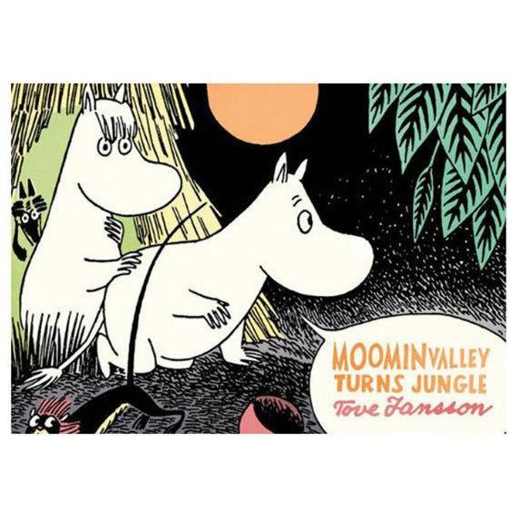 Colour Comic Book Moominvalley Turns Jungle - .