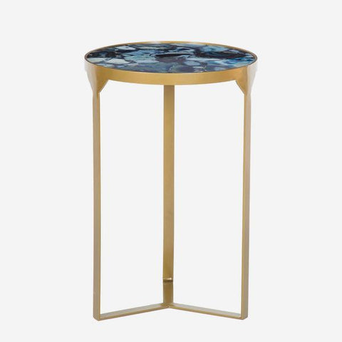 Andrew Martin Ida Side Table Cobalt
