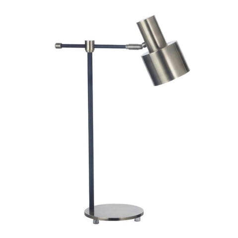 RV Astley Pelle Antique Brass Finish Table Lamp