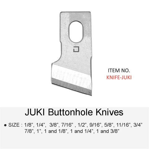 JUKI BUTTON HOLE KNIFE