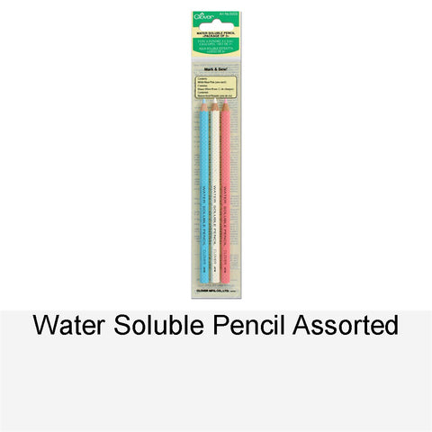 WATER SOLUBLE PENCIL ASSORTED