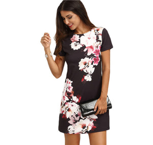 'Summer in Japan' Shift Dress