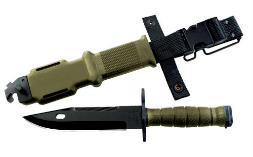 Ontario 1-18 Military Machete 18 in Blk Blade Polymer Handle