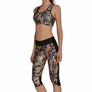 GREEN CAMO ATHLETIC SET - Lotus Leggings