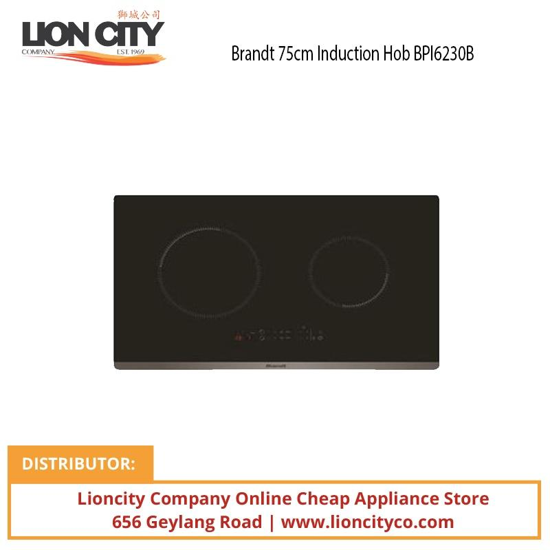 Brandt 75cm Induction Hob BPI6230BL - Lion City Company