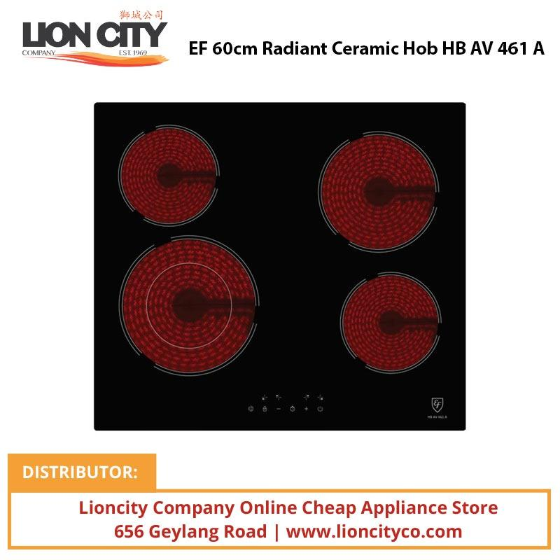EF 60cm Radiant Ceramic Hob HBAV461A - Lion City Company