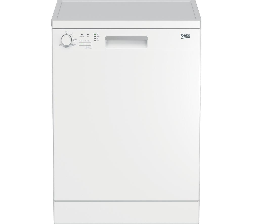 BEKO DFN05X11W Full-size Dishwasher