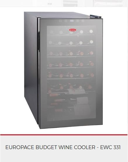 Europace Wine Cooler EWC331***OUT OF STOCK - Lion City Company