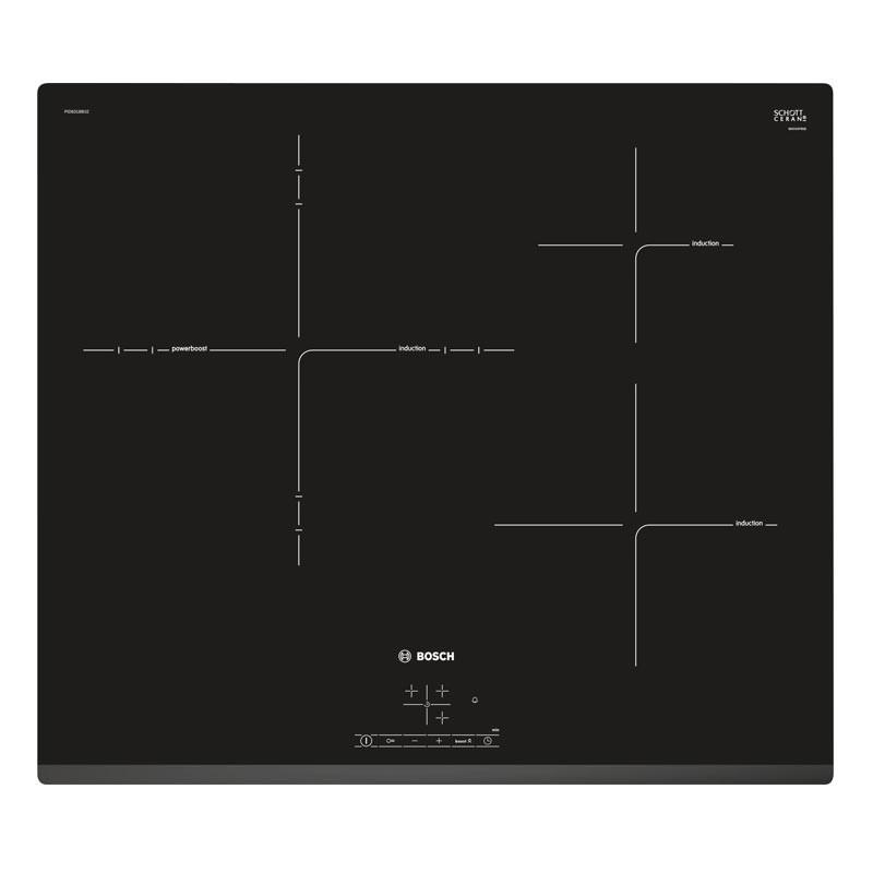 Bosch 60cm Serie 4 Induction Ceramic Hob PID631BB1E - Lion City Company