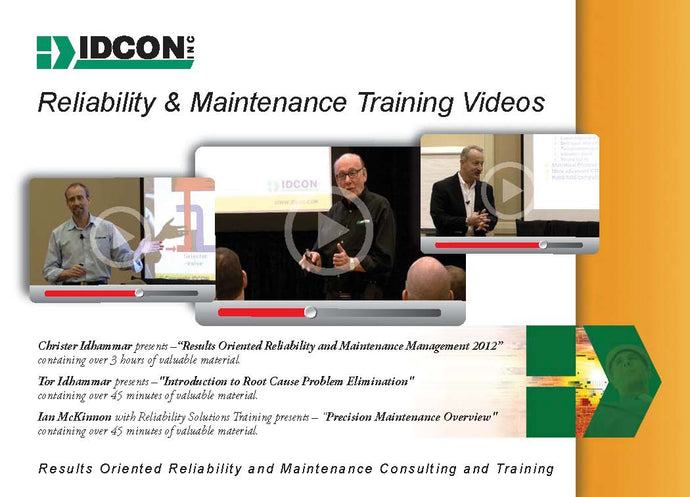 Reliability and Maintenance Training Videos