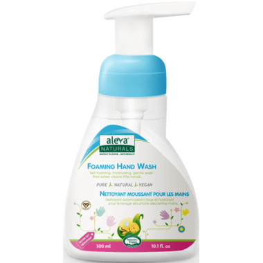 Aleva Naturals Foaming Hand Wash Water Lily
