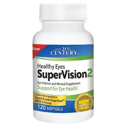 21st Century Healthy Eyes Supervision 2, 120 Tablets
