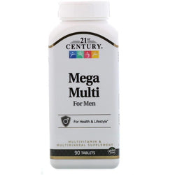 21st Century Mega Multi for Men, 90 Tablets