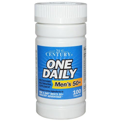 21st Century One Daily 50+ Mens, 100 Tablets