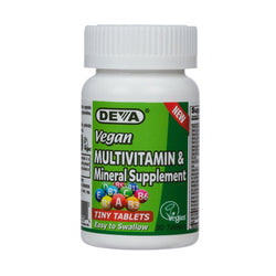 Deva Vitamins Vegan Tiny Tablets Multivitamin, 90 Tablets