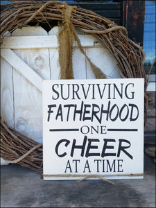 Surviving Fatherhood One Cheer At A Time
