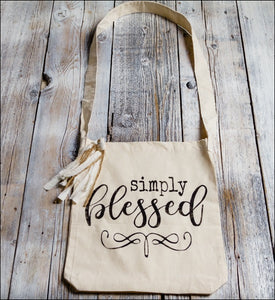 ~Simply Blessed~ Tote Bag
