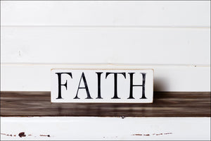 ~Faith~ Shelf Sitter