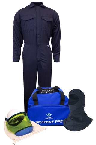 ArcGuard® UltraSoft® Arc Flash Kit with Coverall & Balaclava, No Gloves (KIT2CV11)