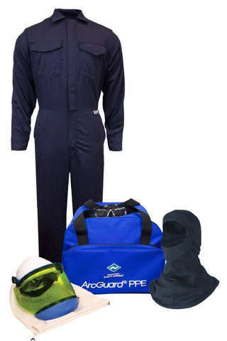 NSA ArcGuard® Arc Flash Kit with UltraSoft® Coverall & Balaclava, No Gloves (KIT2CV08NGB)
