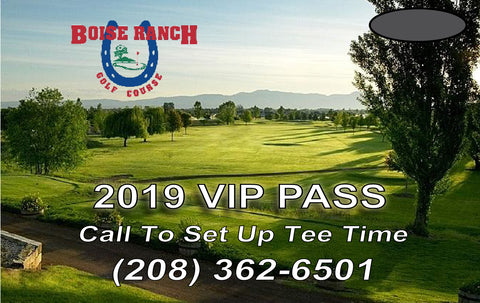 2019 Boise Ranch VIP Pass (10-Round Card)
