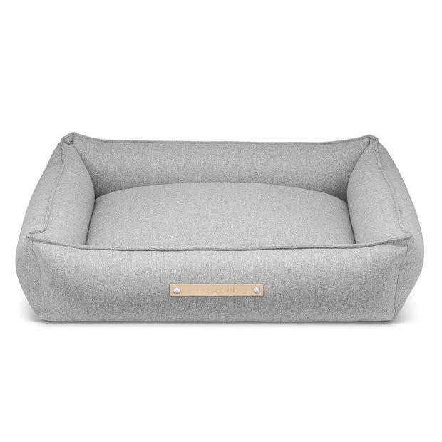 Luxury Modern Dog Bed in Heather Gray - This Dog's Life