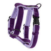 Natural, Eco-Friendly Hemp Harness in Grape - This Dog's Life
