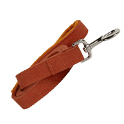 Natural, Eco-Friendly Hemp Leash in Tangerine - This Dog's Life