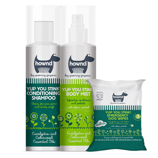 Yup You Stink! Super Grooming Pack with Shampoo, Spray and Emergency Wipes - This Dog's Life