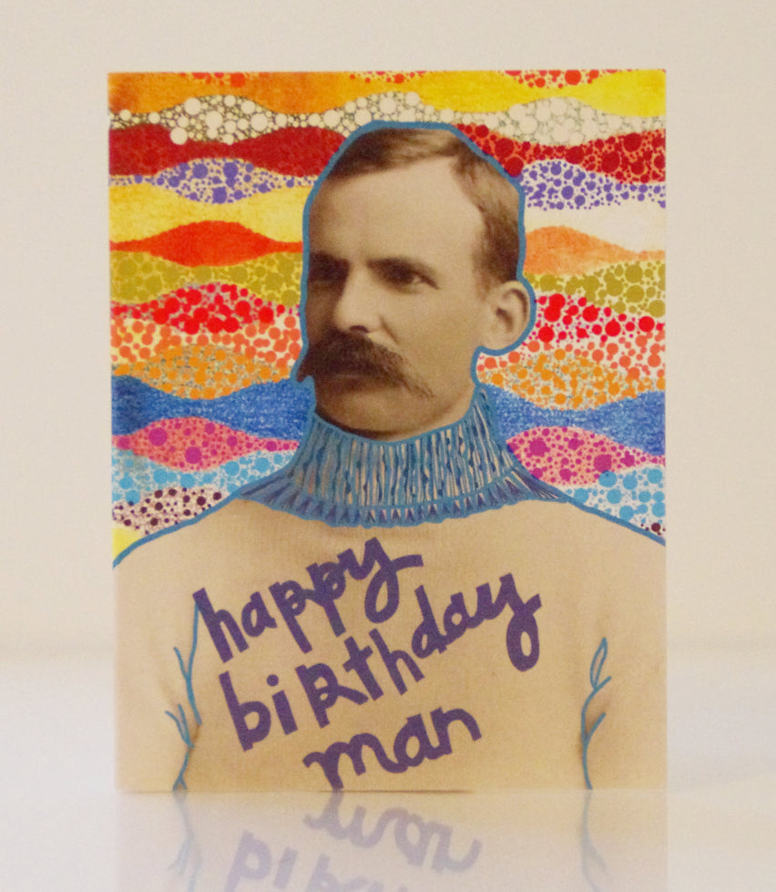 Birthday Card - Man