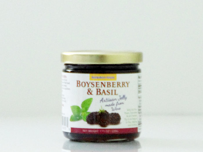 Artisan Jelly - Boysenberry & Basil