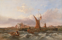 Tilbury Fort, Wind Against the Tide (1853), Clarkson Frederick Stanfield