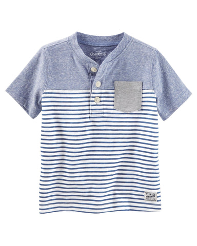 Colorblock Striped Tee