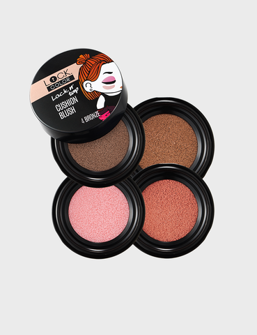 L.O.C.K. n' TAP CUSHION BLUSH