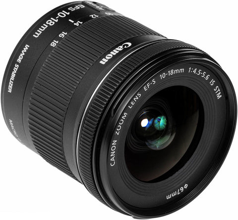 Canon EF-S 10-18mm IS STM - Objetiva