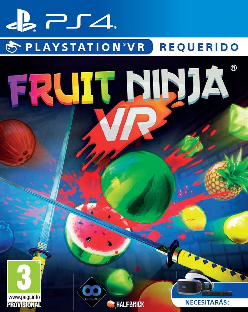 PS4 VR FRUIT NINJA Image