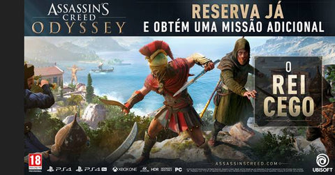 PS4 Assassin's Creed Odyssey Port