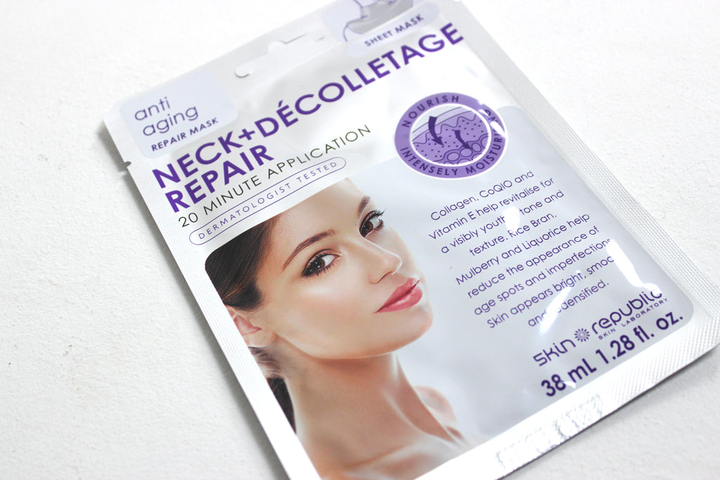 Skin Republic Neck and Decolletage Sheet Mask