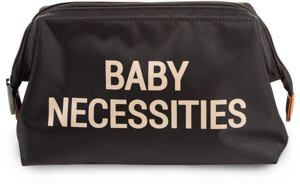 ChildHome Baby Necessities Bag Black Gold