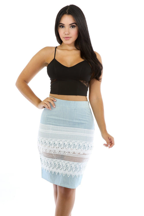 Lace Life Trend Skirt