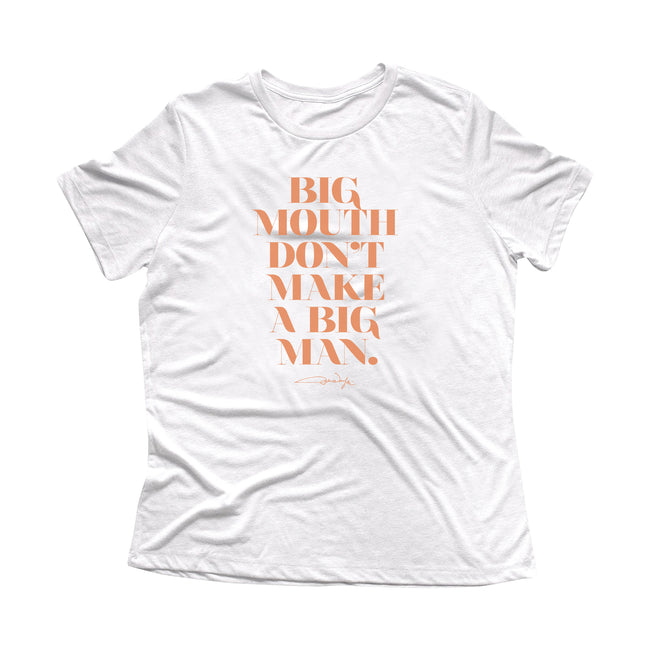 Women's Big Mouth Quote Tee