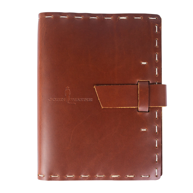 Official John Wayne JW Silhouette Leather Notebook